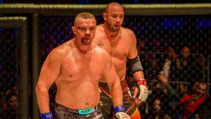Владимир Епифанцев в роли бойца MMA